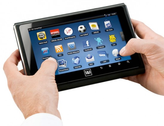 inch SmartPad Tablet Runs Android, Slate Made by German ISP