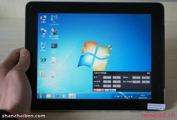 Windows 7 and android 2 2 run on an ipad clone tablet news