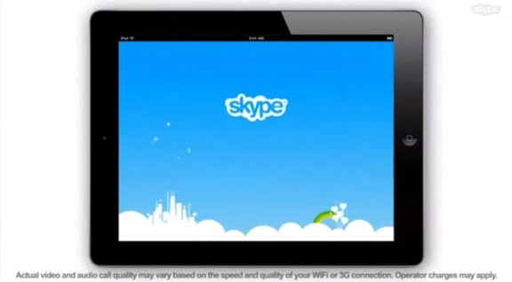 Skype For Ipad Detailed In Promo Clip Video Tablet News
