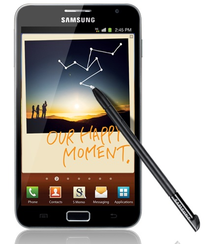 Samsung Galaxy Note Hits the FCC in AT&T Flavor, With LTE | Tablet