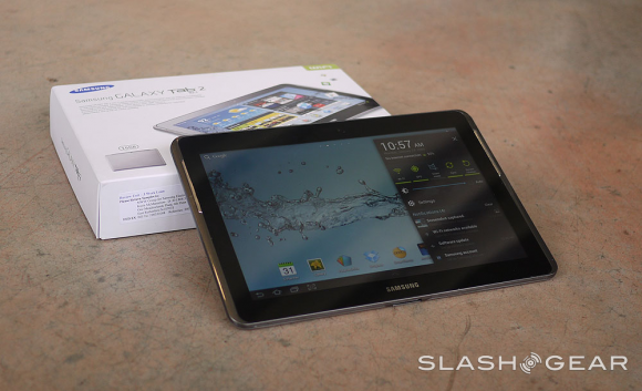 Samsung Galaxy Tab 2 10.1 Gets Reviewed (Video)