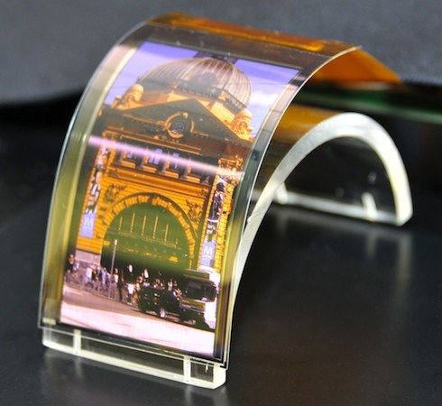 Sharp Flexible Display