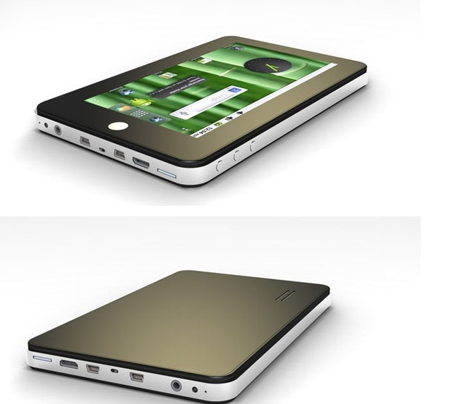 Nuovii Technology M75 is a Chinese Android 2 3 Tablet - Tablet News
