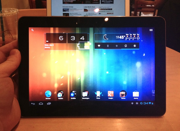 Samsung Galaxy Tab 10.1 GT-P7500 Starts Receiving Android 4.0.4