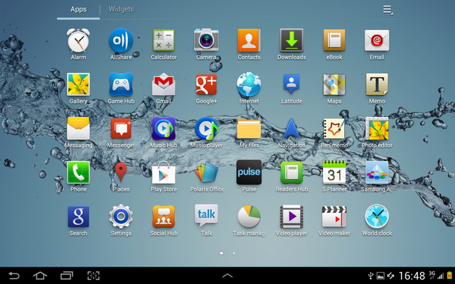 Samsung Galaxy Tablets Just Started Receiving Android 4 0