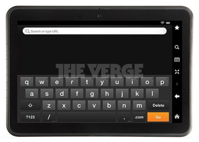An Alleged Picture Showing the New Kindle Fire Surfaces