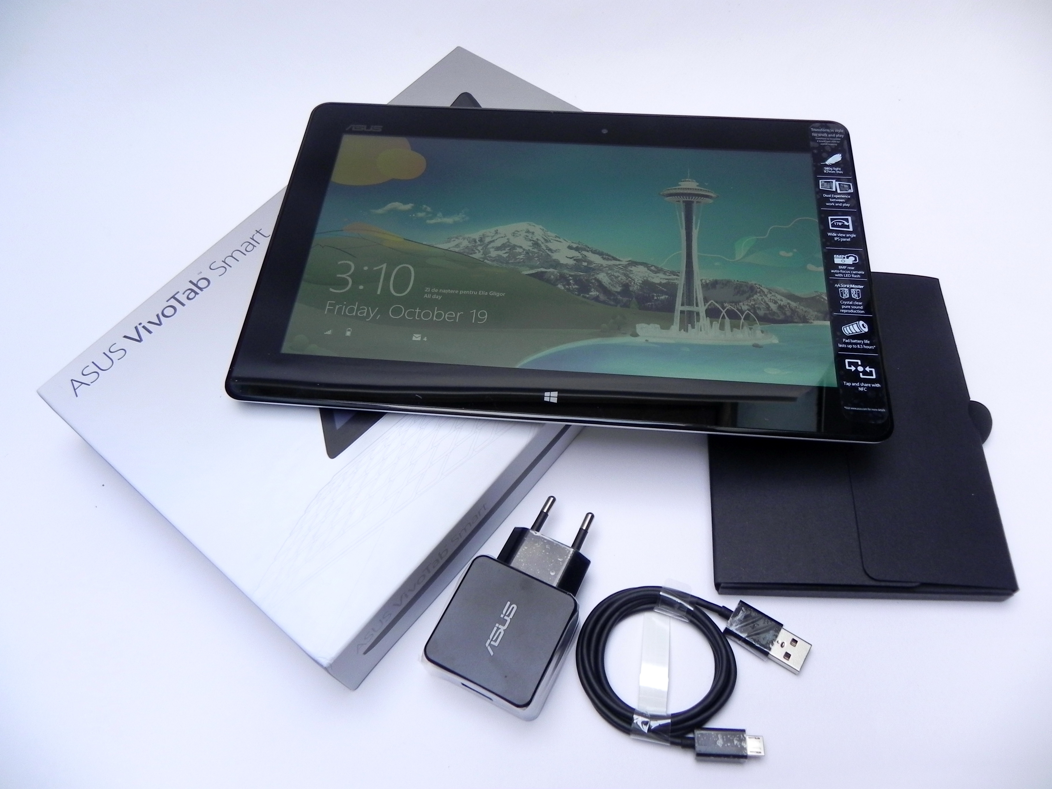 ASUS VivoTab Smart Unboxing: Intel Atom Win 8 Tablet Gets