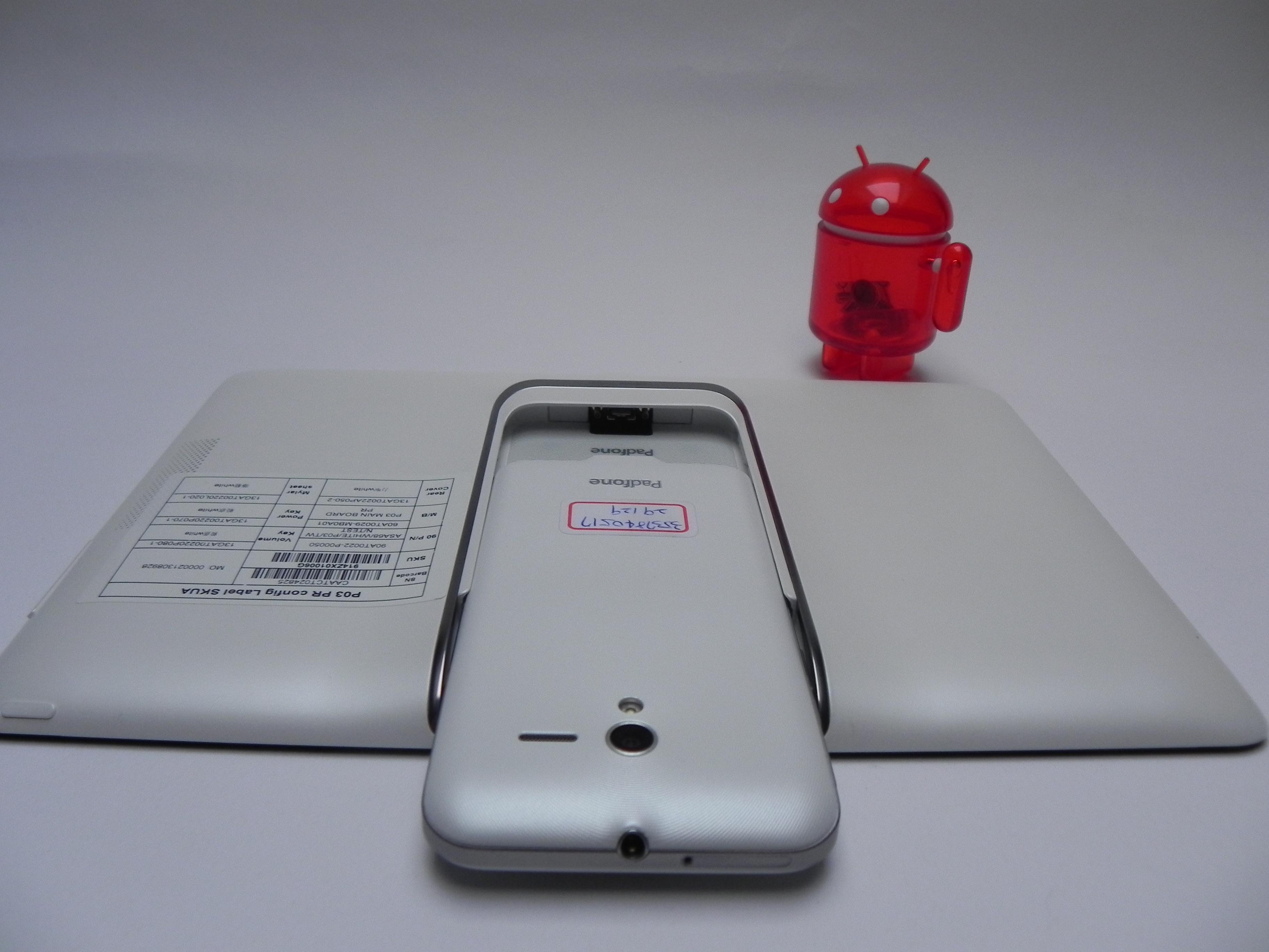 Đánh giá chi tiết màn hình, camera & loa của Asus Padfone 2