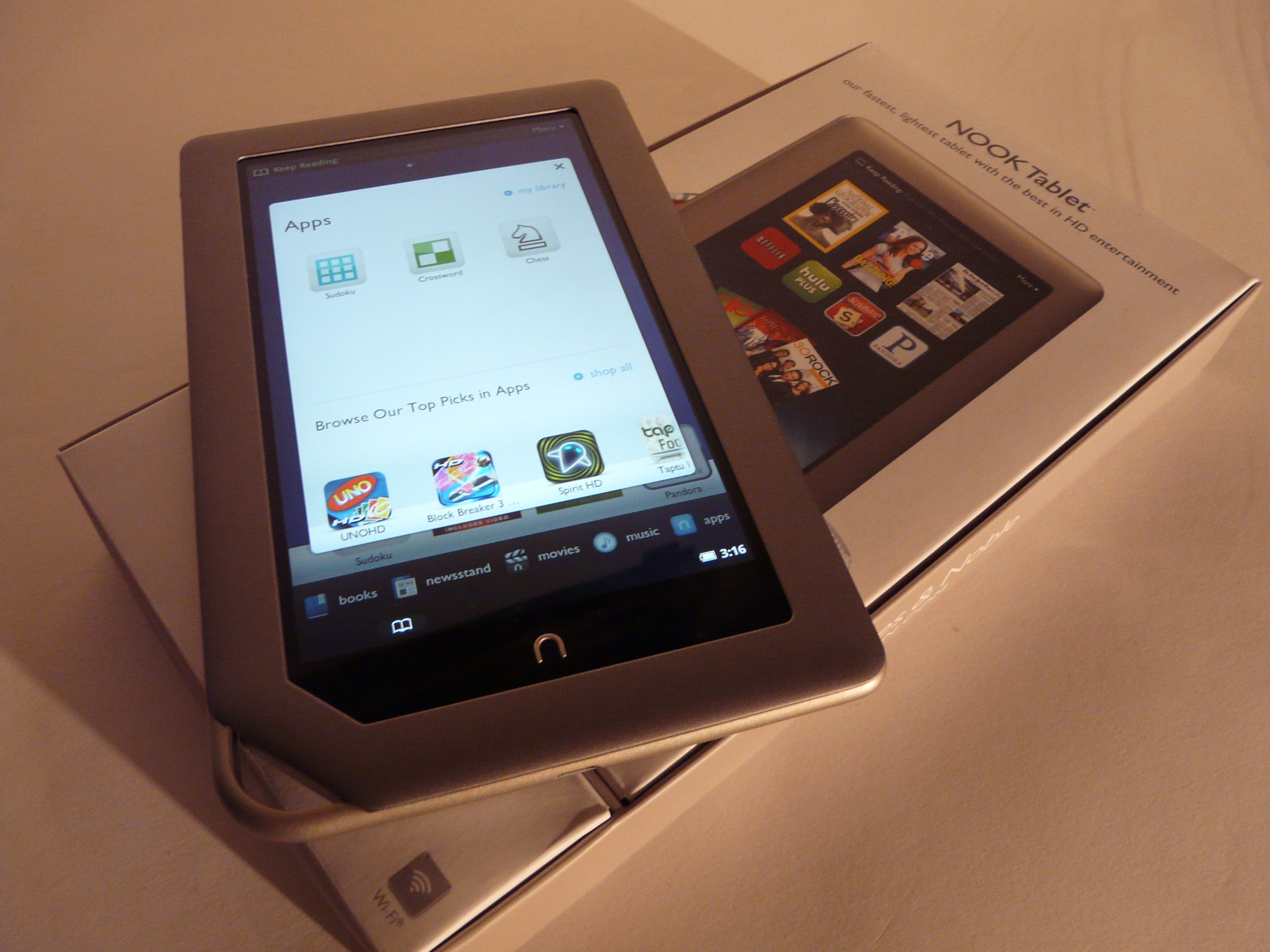 Nook Tablet Review: Better Than The Kindle Fire! (video) Tablet News