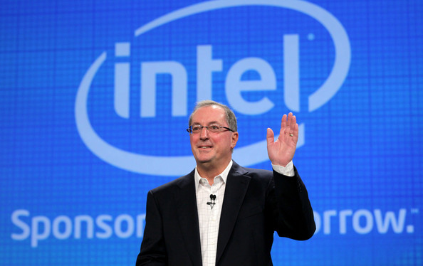 Intel CEO Paul Otellini delivers a keynote address during the IDF 2010 Intel Developer Forum at the Moscone Center on September 13, 2010 in San Francisco, California