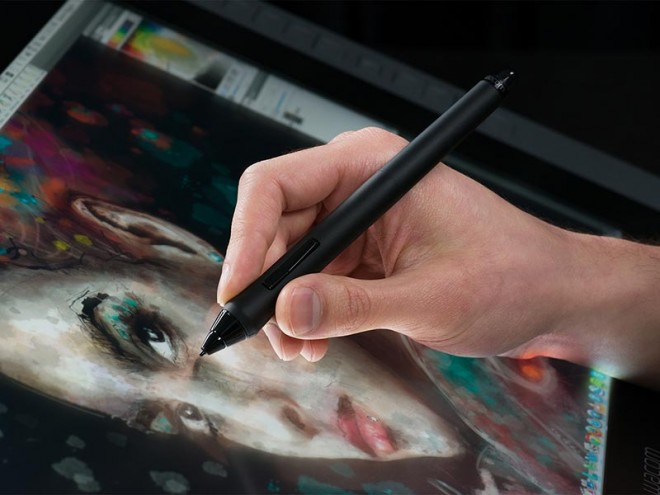 Wacom Cintiq Drawings The Wacom Cintiq 22hd Comes