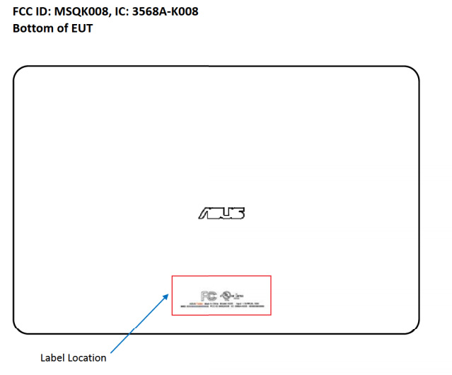 Asus-K008-FCC-label-1