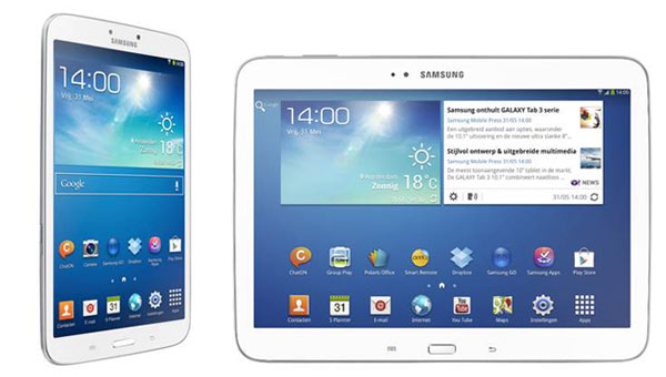 Samsung Galaxy Tab 3 Tablets Priced In Europe Up For