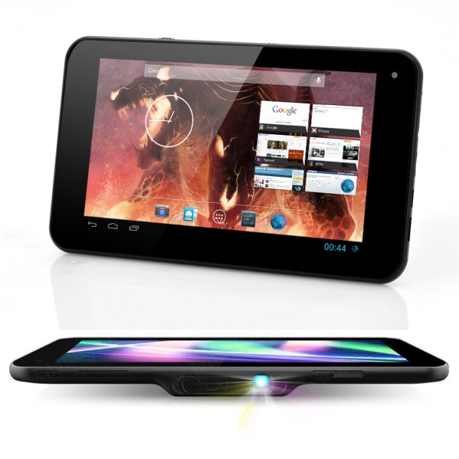 E-ceros vision tablet is like the perfect portable entertainment device: the 101 inch tablet is powered by a