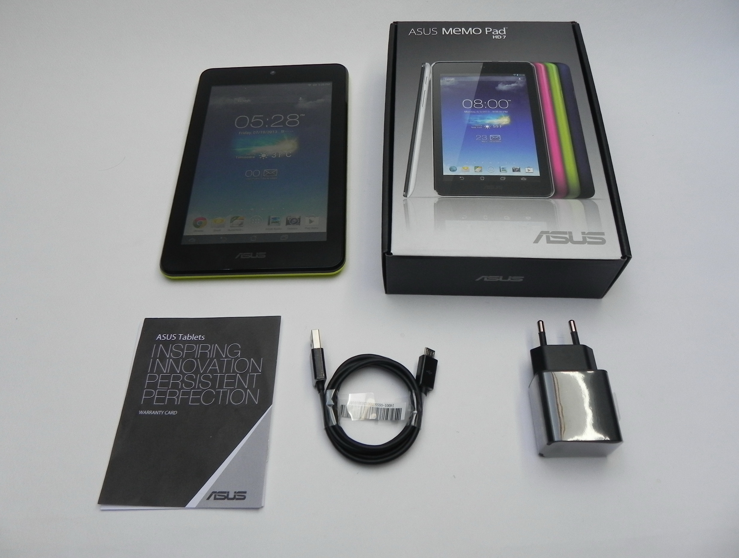 ASUS MeMo Pad HD 7 Unboxing: Youthful Device With Quad Core Mediatek