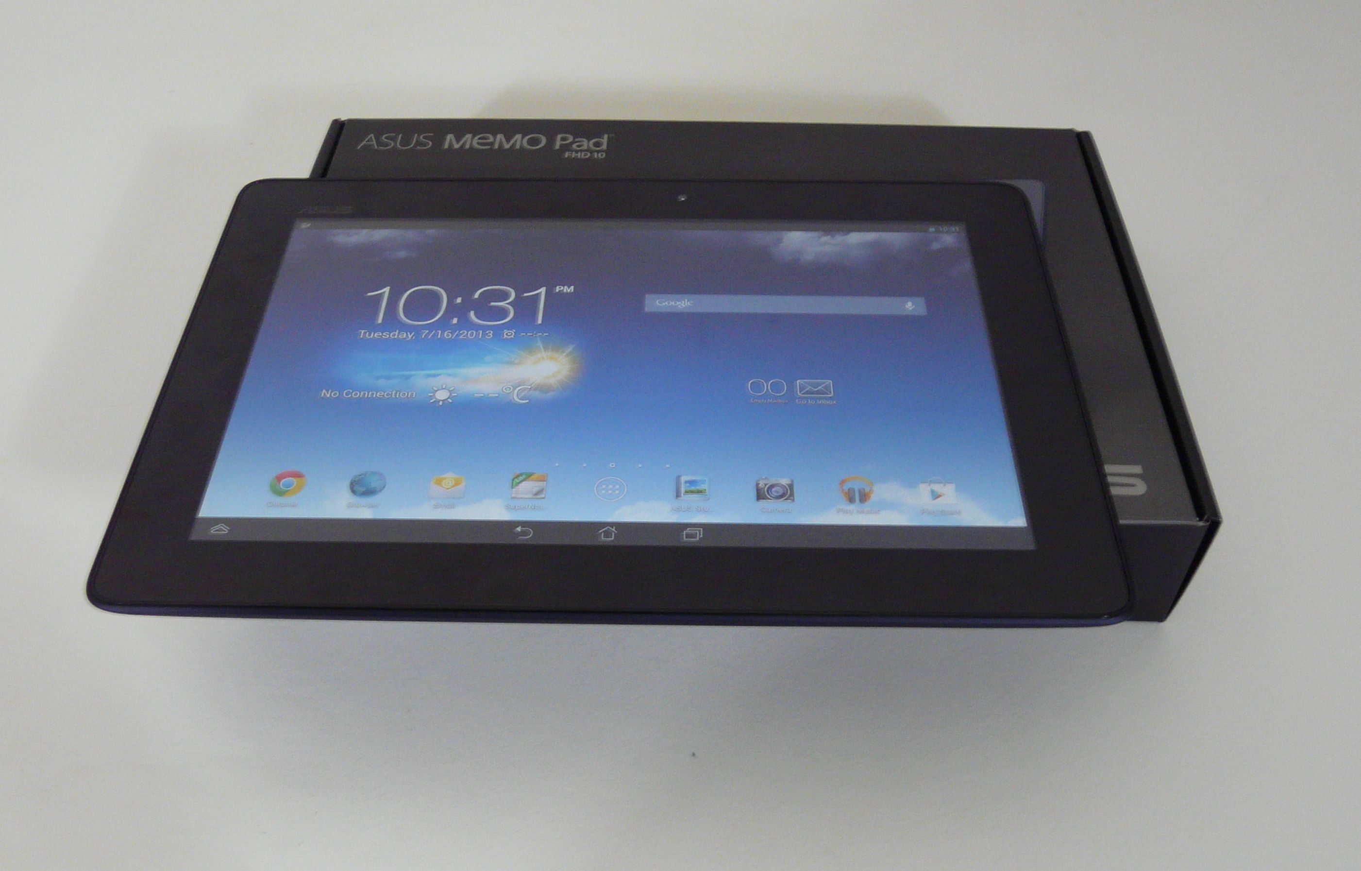 Asus Memo Pad Fhd 10 Unboxing 101 Inch Midrange Slate Gets Unboxed Usb Cable Wiring Diagram Only Includes A Charger And Plus Tiny Manual The Device Was Unveiled Early Next Month At Computex It Will Hit Stores In August