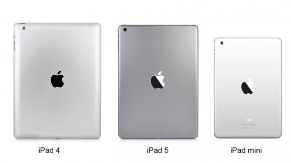 Ipad 5 and ipad mini 2 space gray get caught on camera and for Iphone 5s upgrade ipad 5 and ipad mini 2 set for october
