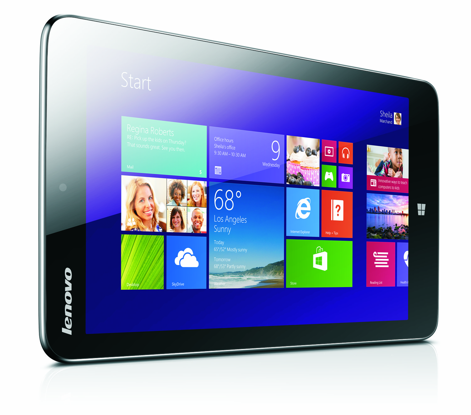 lenovo announces 8 inch miix 2 tablet with windows 8 1 299 price tag tablet news. Black Bedroom Furniture Sets. Home Design Ideas