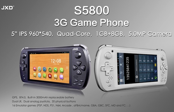 JXD S5800 is an Android Game Console that Yet Again Kills