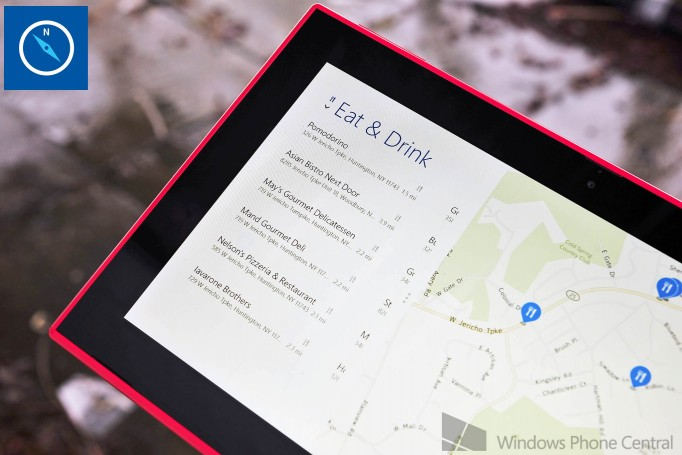 Nokia Debuts HERE Maps on Windows 8 1 Hardware - Tablet News