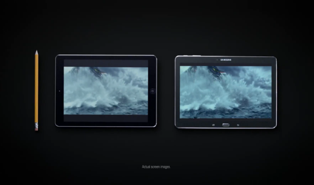 Samsung Mocks iPad Air for Lack of Multitasking in New Galaxy Tab