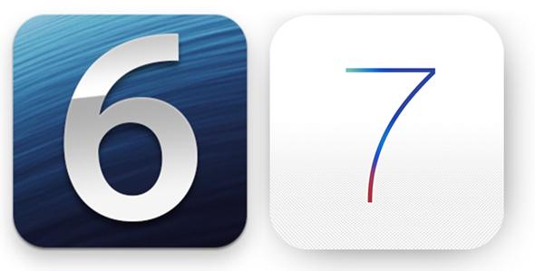 iOS-7-iOS-6