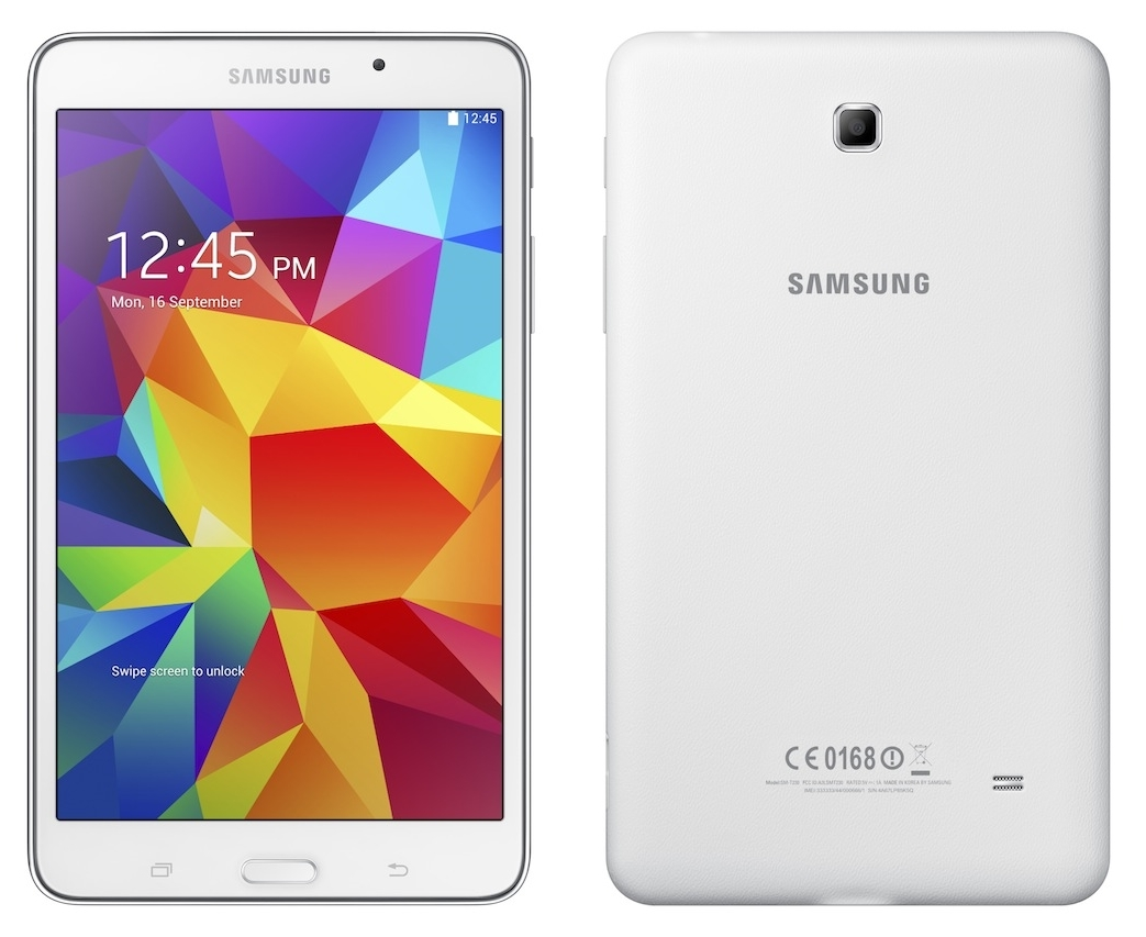 Samsung reveals its new galaxy tab4 tablet lineup with for Table th size