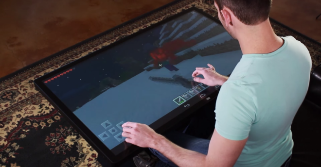 Minecraft Pocket Edition Runs On Android Coffee Tablet Is