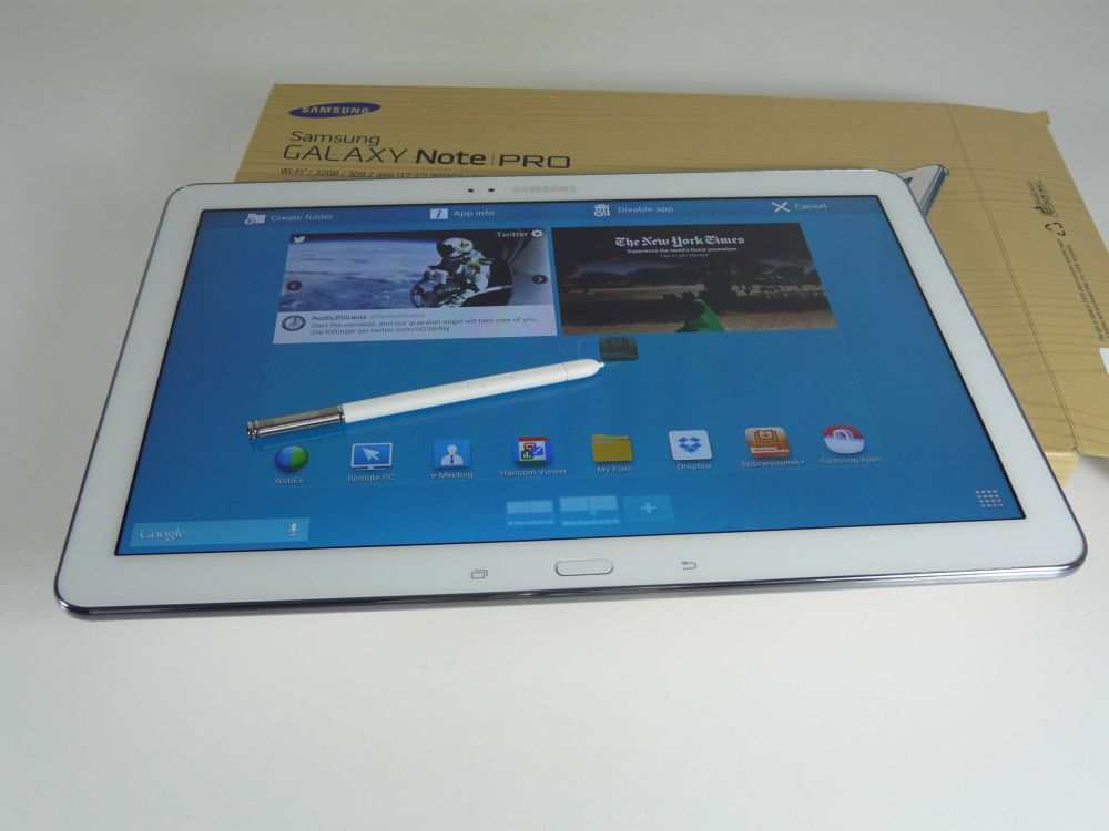 samsung galaxy note pro 12 2 unboxing octa core tablet. Black Bedroom Furniture Sets. Home Design Ideas