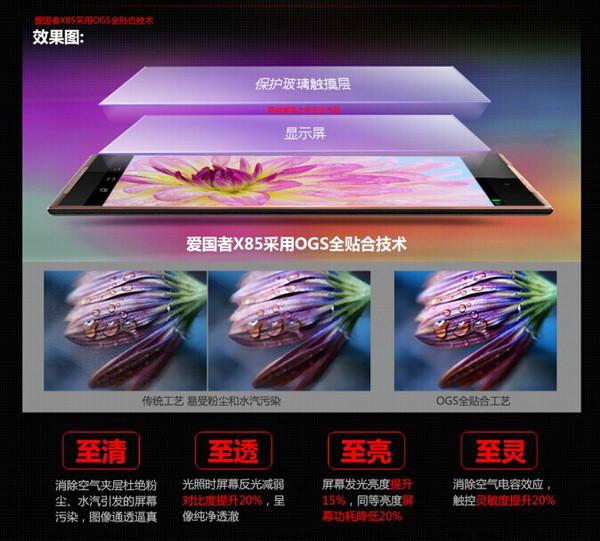 Aigo X85   8 дюймовый недорогой планшет с качественным звуком