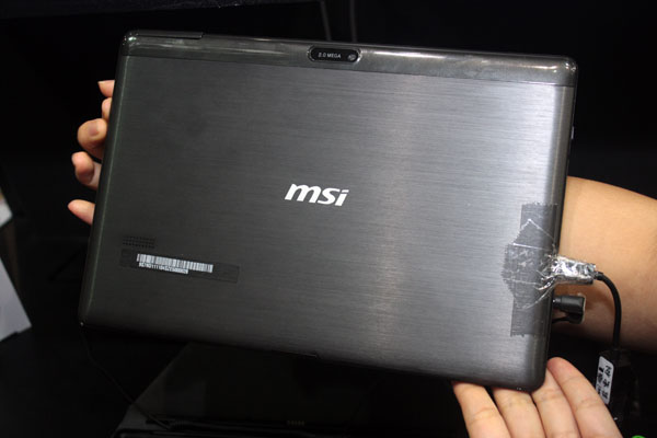 Msi S100 10 Inch Tablet Uses Bay Trail Cpu Runs Windows 8