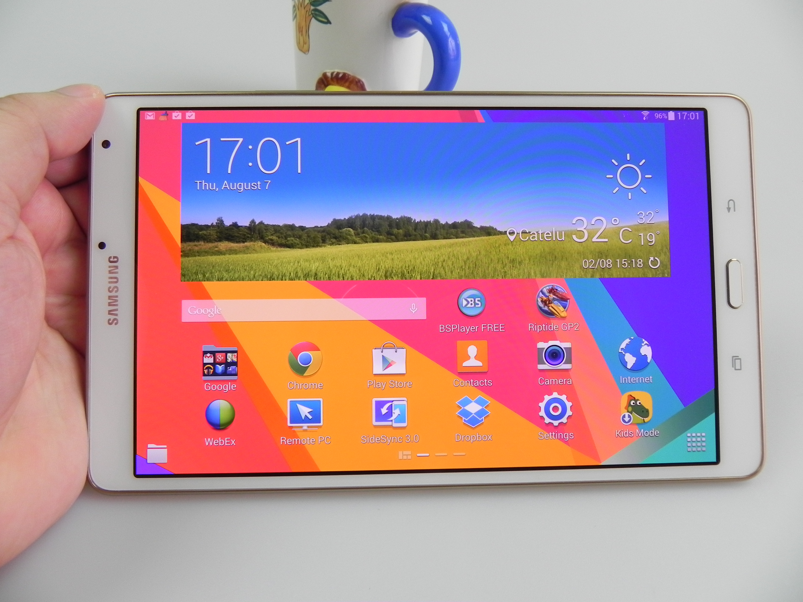 Samsung galaxy tab s 8 4 review best screen on a tablet for Samsung galaxy s tablet