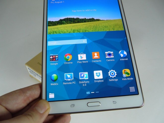 tab s unboxing 2