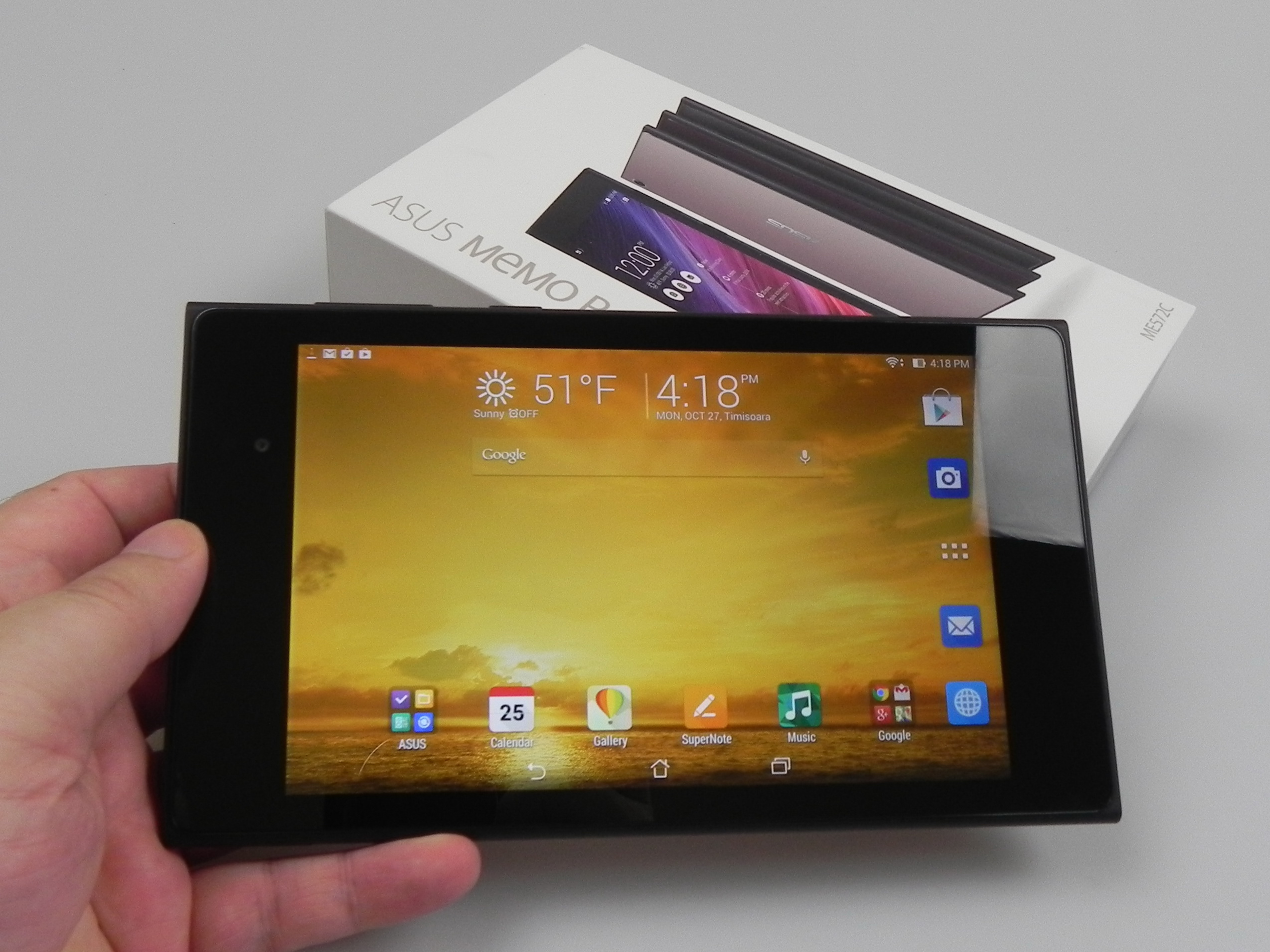 ASUS MeMo Pad 7 ME572C Unboxing: Elegant Tablet Inspired by Clutch
