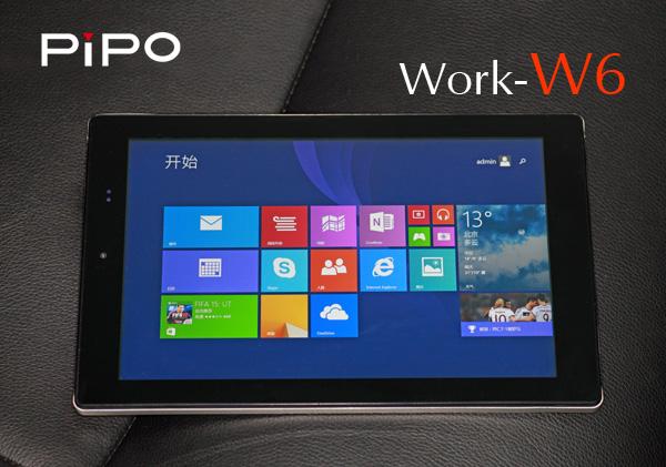 pipo work w6 retours et impressions tablette chinoise net. Black Bedroom Furniture Sets. Home Design Ideas