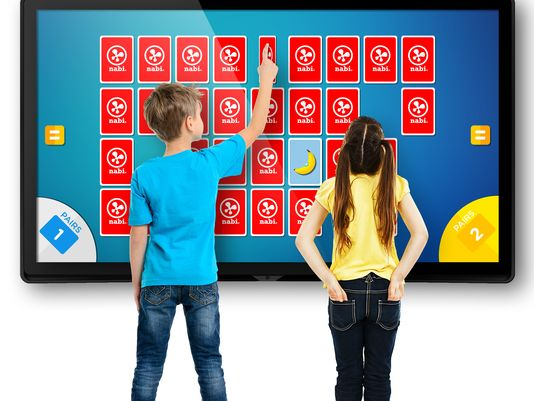 Nabi Tablets Now Turn Into Wall Size Touch Devices