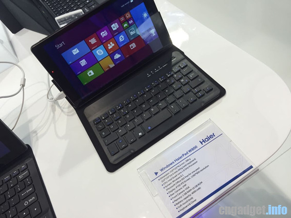Haier W800,  W203 and HaierPad 971 Officially Announced; Intel based Slates with Accessible Prices