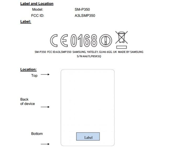 Samsung-Galaxy-Tab-AS-Plus-SM-P350-FCC-Certification