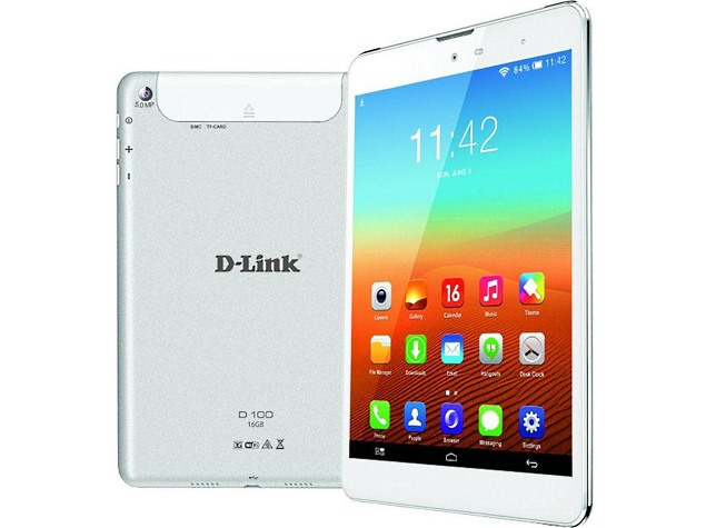 D Link D100 is a Voice Calling Tablet Priced at $200