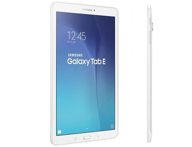 Samsung Announces the Galaxy Tab E Tablet; A Low-End Slate ...