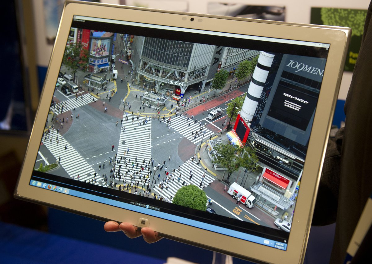 Panasonic\u0027s 20 Inch 4K ToughPad Tablet Has Just Been Turned into a