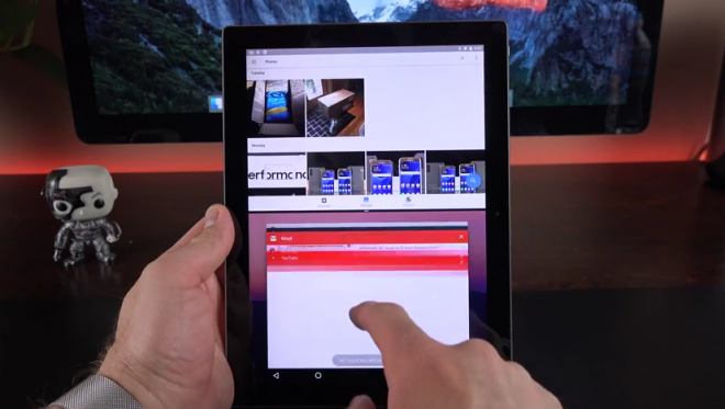 tablet android n preview