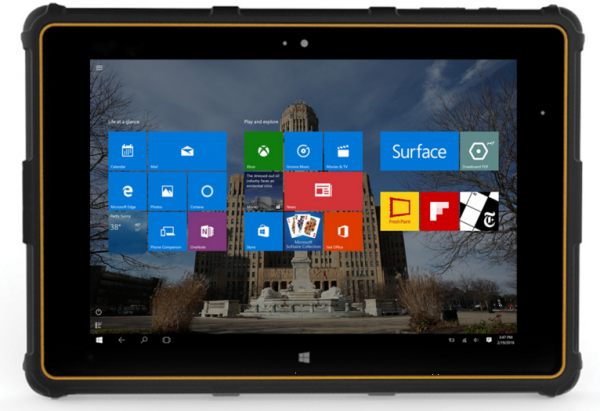 Bakusa Seal 8 Windows 10 Tablet Features Rugged Design Now