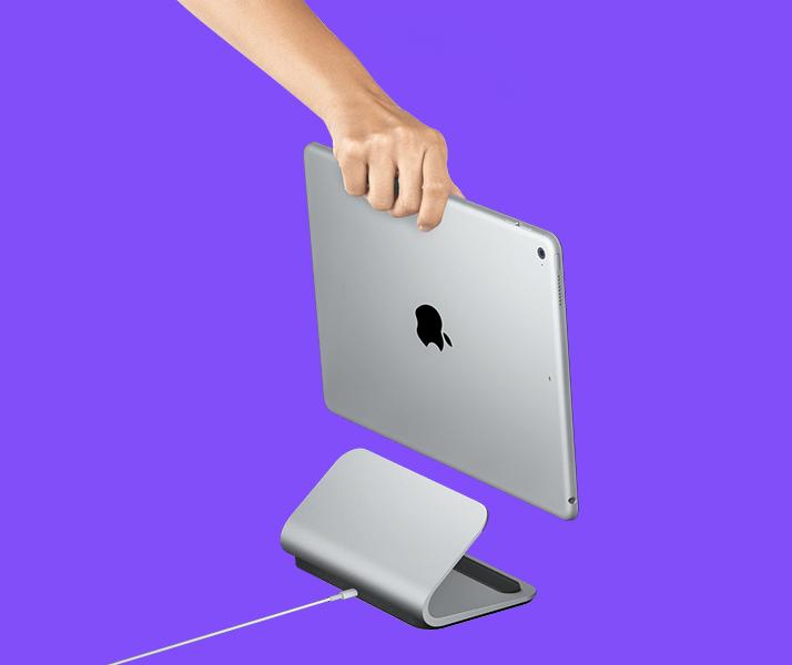 691d1a0ae5d Logitech Debuts Logi Base Charging Dock for iPad Pro - Tablet News