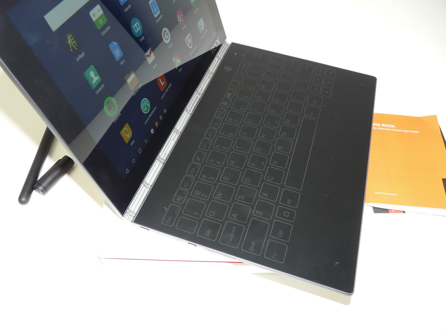 Lenovo Yoga Book Unboxing Android Stunning Machine With Virtual Keyboard Real Pen With Ink Video Tablet News