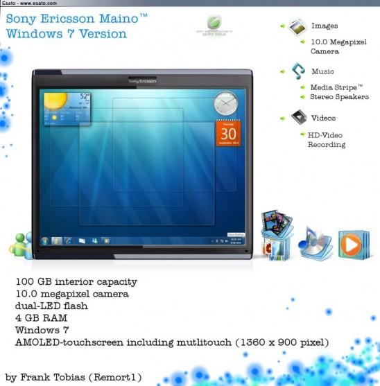 Brilliant Sony Ericsson Maino Tablet Runs Windows 7 Tablet News Interior Design Ideas Grebswwsoteloinfo