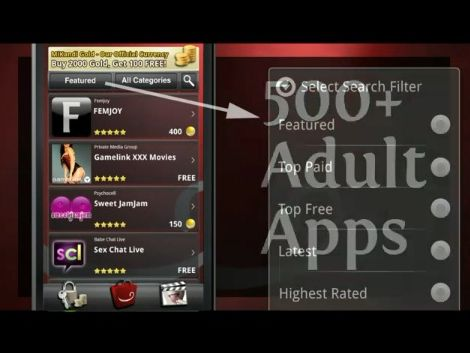 Naughty apps android