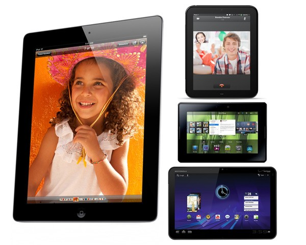 iPad 2 Takes on Motorola Xoom, HP TouchPad and BlackBerry ...