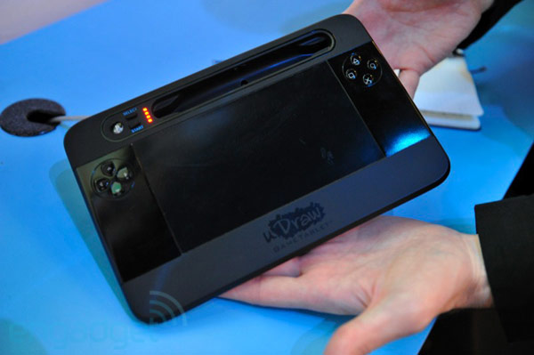 Thq udraw gametablet reminds us of the wii u controller for Nintendo wii u tablet