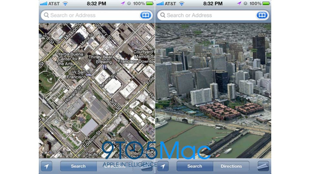 Apple to Give Up Google Maps in iOS 6.0, Go With Own ... on google maps lite, google maps full screen, google maps street view, google maps gps, google maps helicopter, google maps mobile, google maps 2d, google app ios 6 maps, google maps menu, google maps india, google maps logo,